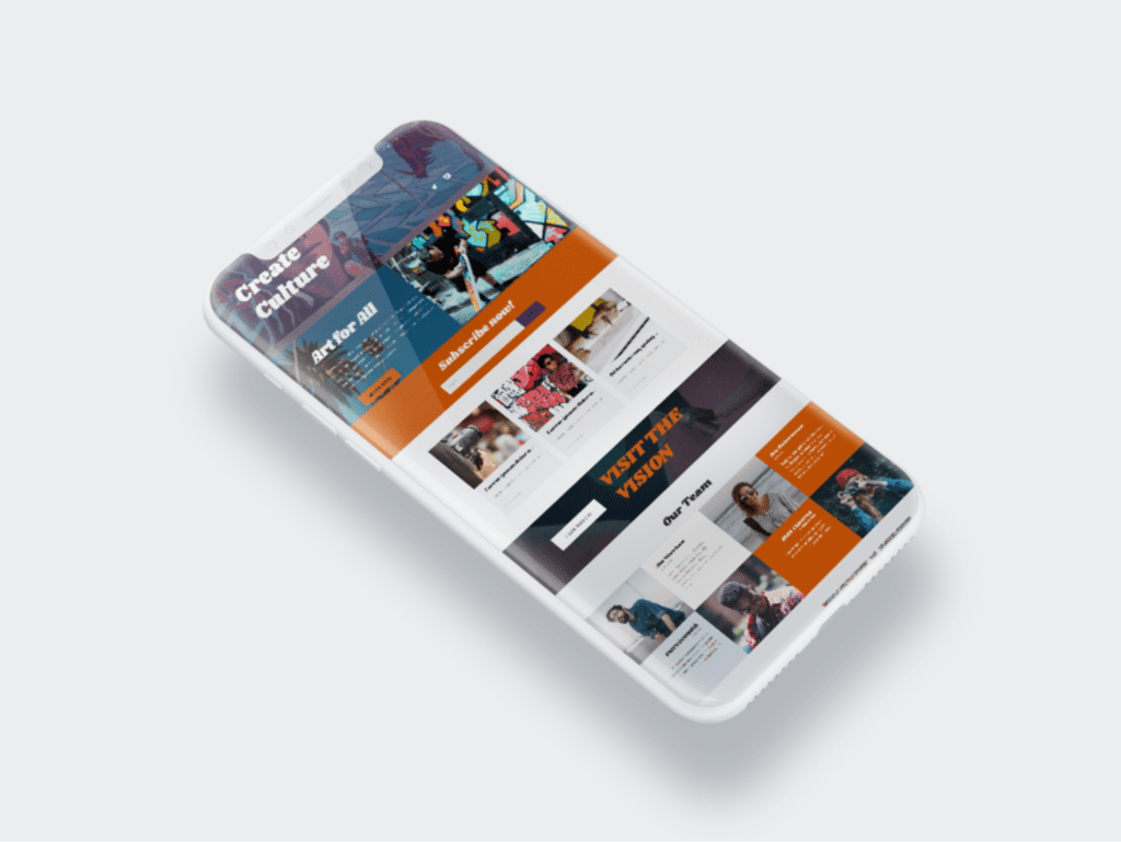 Responsive Web Design Mock-Up
